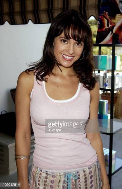 Jacqueline Obradors during The Cabana Beauty Buffet Day 1 at The Chateau Marmont Hotel in Los Angeles California United States