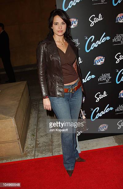Jacqueline Obradors during The Cooler Los Angeles Premiere at The Egyptian Theater in Hollywood California United States