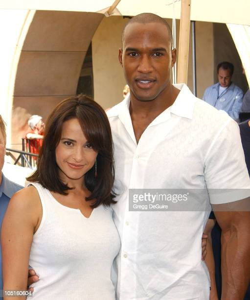 Jacqueline Obradors Henry Simmons during 2003 ABC Primetime Preview Weekend Day 2 at Disney's California Adventure in Anaheim California United States