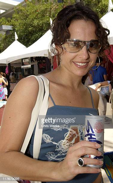 Jacqueline Obradors with Shark Energy Drink during The Silver Spoon Beauty Buffet Sponsored By Allure Day Two at Private Residence in Los Angeles...