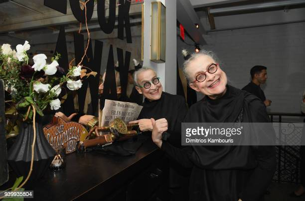Jacqueline Robbins and Joyce Robbins attend the Netflix Premiere of 'A Series of Unfortunate Events' Season 2 on March 29 2018 in New York City