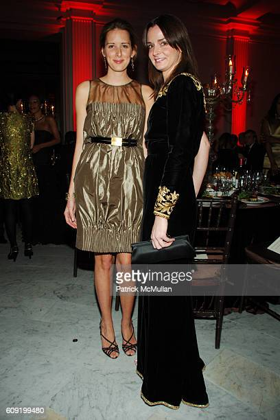 Jacqueline Sackler and Annie Churchill attend The American Museum of Natural History hosts it's Annual Winter Dance at The American Museum of Natural...