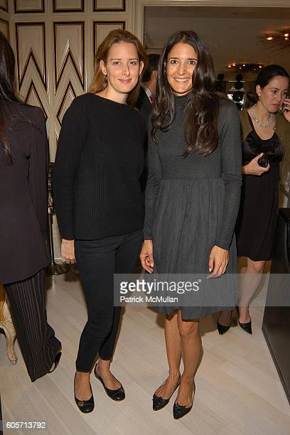 Jacqueline Sackler and BJ Blum attend Lucy Sykes for Best Co Spring 2007 Trunk Show at Bergdorf Goodman on October 3 2006 in New York City