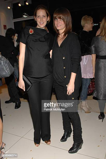 Jacqueline Sackler and Bronwyn Keenan attend CHLOE VOGUE Celebrate the Madison Avenue Boutique reopening with the GUGGENHEIM Museum's Young...