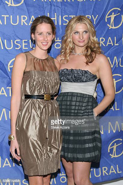 Jacqueline Sackler and Claire Bernard attend the Annual Winter Dance at the American Museum of Natural History in New York City
