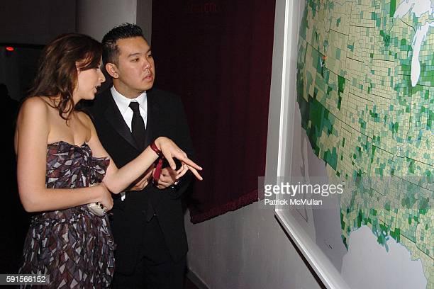 Jacqueline Sackler and Jim Shi attend The 3rd Annual GUGGENHEIM ARTIST BALL Sponsored by YVES SAINT LAURENT at Solomon R Guggenheim Museum on...