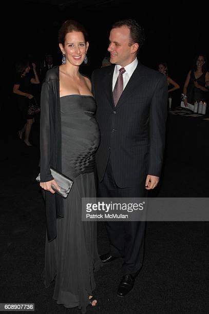 Jacqueline Sackler and Mortimer Sackler attend GUGGENHEIM INTERNATIONAL GALA at Hudson River Park Pier 40 NYC on November 8 2007