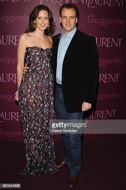 Jacqueline Sackler and Mortimer Sackler attend The 3rd Annual GUGGENHEIM ARTIST BALL Sponsored by YVES SAINT LAURENT at Solomon R Guggenheim Museum...