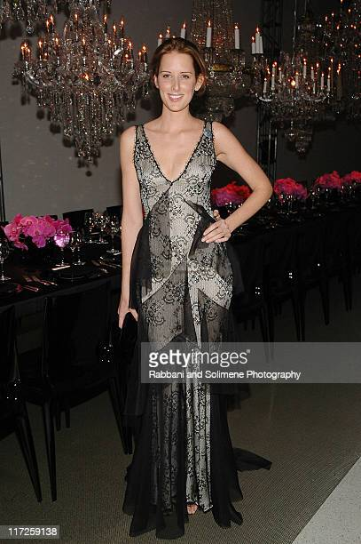 Jacqueline Sackler wearng Armani during Solomon R Guggenheim Museum's Young Collectors Council 2006 Artist's Ball Sponsored by Giorgio Armani at...