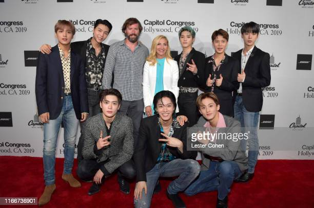 NCT 127 Jacqueline Saturn and Matt Swain attend Capitol Music Group's 6th annual Capitol Congress premiering new music and projects for industry and...