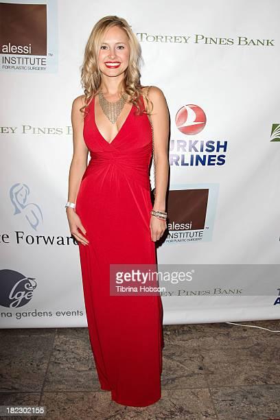 Jacqueline Schaffer attends the 4th annual Face Forward LA Gala at Fairmont Miramar Hotel on September 28 2013 in Santa Monica California