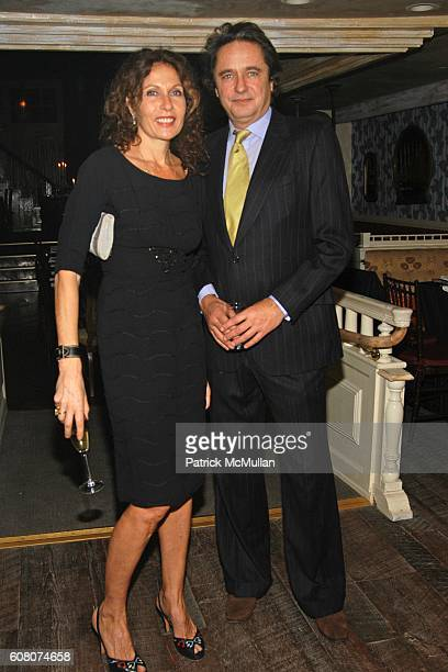 Jacqueline Schnabel and Chuck Price attend A Private Dinner to Celebrate LES PERLES DE CHANEL Hosted by Marjorie Gubelmann Raein and Samantha...