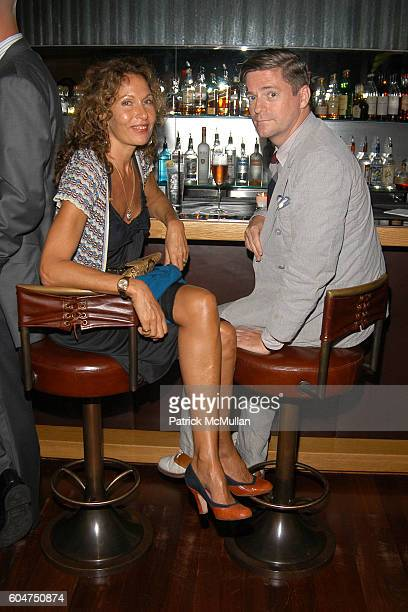 Jacqueline Schnabel and Peter McCough attend Signé Chanel Premiere at The Core Club on September 5, 2006 in New York City.