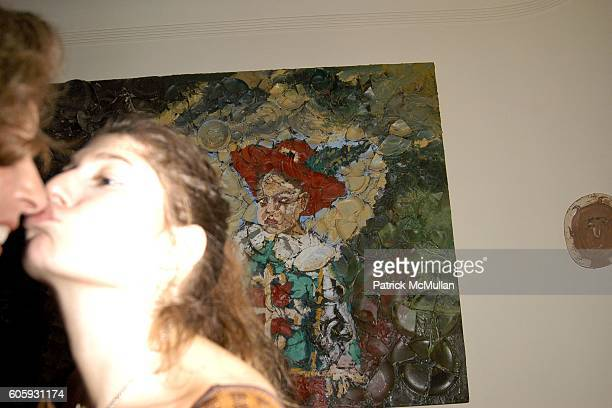 Jacqueline Schnabel and Stella Schnabel attend MARNI Dinner for Consuelo Castiglioni at The Home of Jacqueline Schnabel on April 29 2006 in New York...