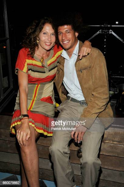 """Jacqueline Schnabel and Trip Patterson attend Dom Perignon and Vito Schnabel dinner in celebration of Terence Koh's book """"Flowers for Baudelaire"""" at..."""