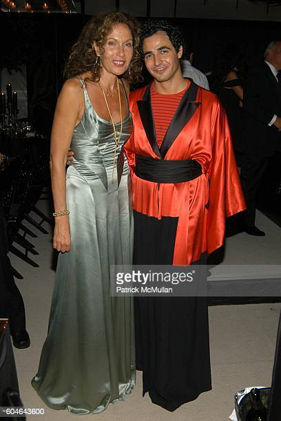 Jacqueline Schnabel and Zac Posen attend ZAC POSEN at VAKKO Black Tie Dinner at Les Ottomans on September 30, 2006 in Istanbul, Turkey.