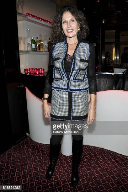 Jacqueline Schnabel attends CHANEL DINNER IN HONOR OF VANESSA PARADIS FOR ROUGE COCO at the Mark Hotel on February 9 2010 in New York City