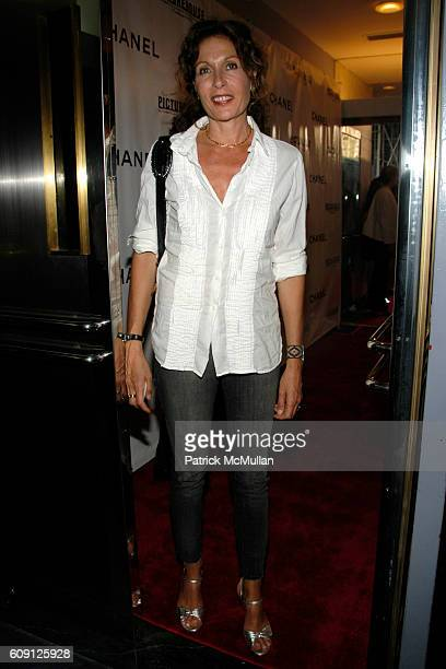 Jacqueline Schnabel attends CHANEL & PICTUREHOUSE SCREENING OF LA VIE EN ROSE at Paris Theater on May 31, 2007 in New York City.