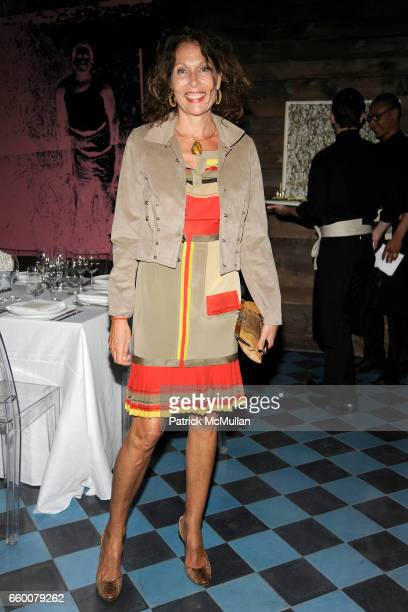 Jacqueline Schnabel attends Dom Perignon and Vito Schnabel dinner in celebration of Terence Koh's book Flowers for Baudelaire at The Home of Vito...