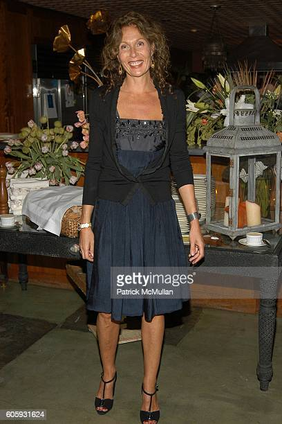 Jacqueline Schnabel attends MARNI Dinner for Consuelo Castiglioni at The Home of Jacqueline Schnabel on April 29 2006 in New York City