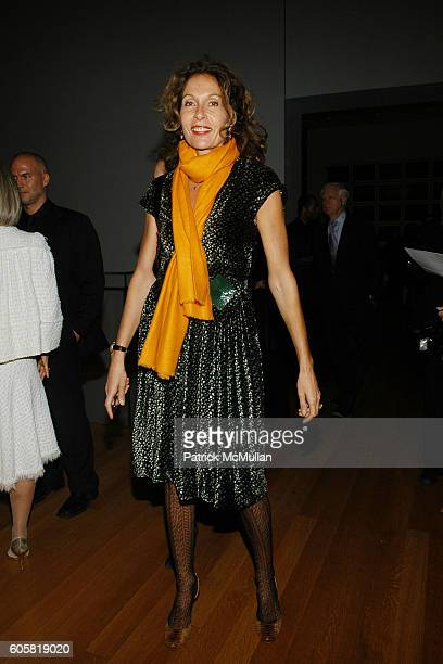 Jacqueline Schnabel attends MoMA Opening Celebrating Brice Marden: A Retrospective of Paintings and Drawings at MoMA on October 24, 2006.