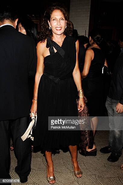 Jacqueline Schnabel attends Private Dinner hosted by CARLOS JEREISSATI CEO of IGUATEMI at Pastis on September 6 2008 in New York City