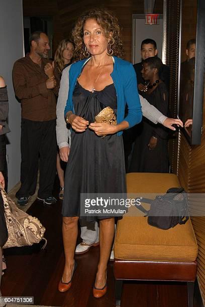 Jacqueline Schnabel attends Signé Chanel Premiere at The Core Club on September 5, 2006 in New York City.