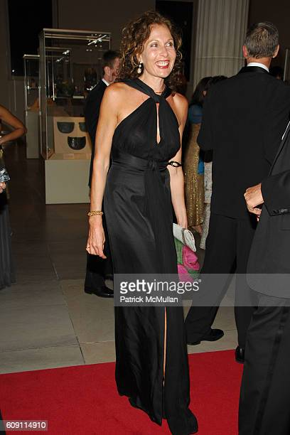 Jacqueline Schnabel attends The COSTUME INSTITUTE Gala in honor of POIRET KING OF FASHION at The Metropolitan Museum of Art on May 7 2007 in New York...