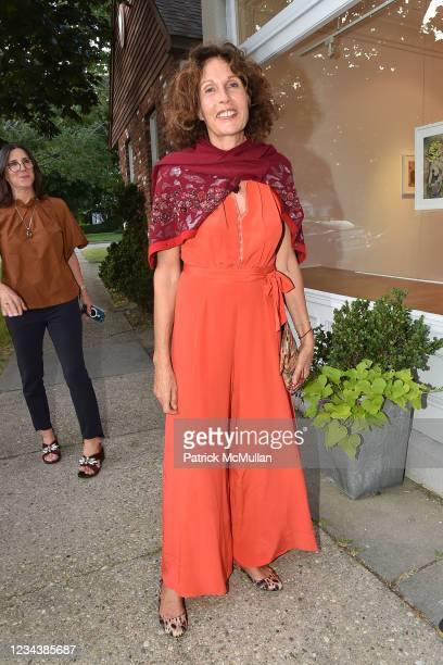 """Jacqueline Schnabel attends the release of Christophe von Hohenberg's new book """"The White Album of The Hamptons"""" and Bruce Helander's """"Collages and..."""