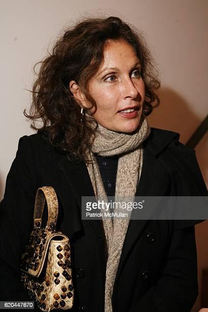 Jacqueline Schnabel attends Vito Schnabel and Olivier Sarkozy Present TERENCE KOH Flowers for Baudelaire at Former Richard Avedon Studio on November...