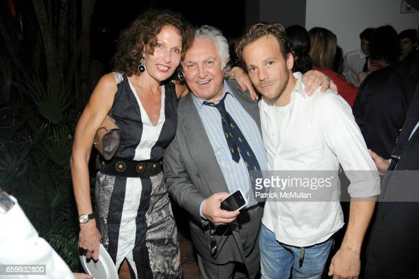 Jacqueline Schnabel, Tony Shafrazi and Stephen Dorff attend ABY ROSEN, PETER BRANT & ALBERTO MUGRABI Dinner at W SOUTH BEACH at W SOUTH BEACH on...
