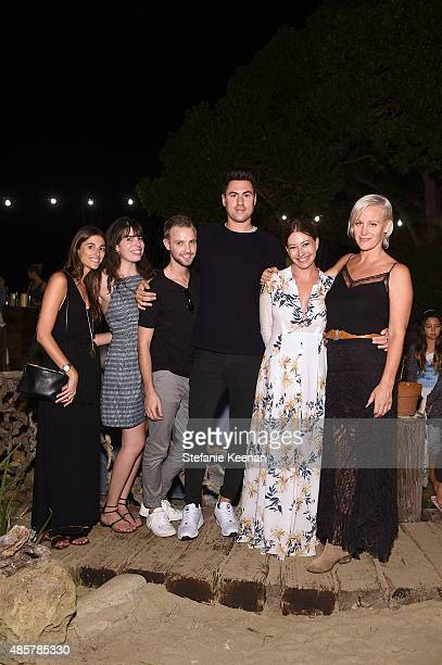Jacqueline Schulze Kelsey Schilit Daniel Tyson John Averill Meg Carlozzi and Ali Taekman attend Kelly Slater John Moore and Friends Celebrate the...