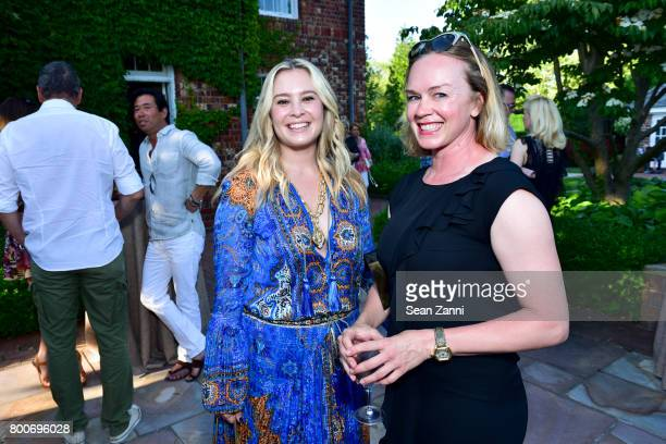 Jacqueline Sewell and Kimberly Von Koontz attend Maison Gerard Presents Marino di Teana: A Lifetime of Passion and Expression at Michael Bruno and...
