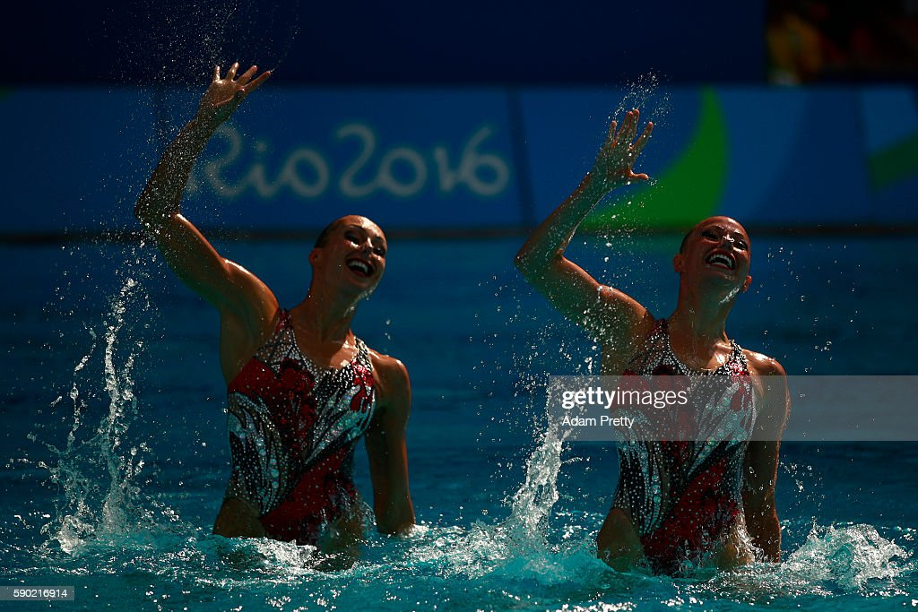 Synchronised Swimming - Olympics: Day 11