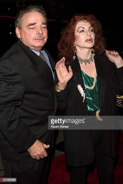 Jacqueline Stallone and her husband Dr. Stephen Lavine at the premiere of 'Get Carter' at the Bruin Theater, Westwood, Ca. 10/4/00. Photo by Kevin...