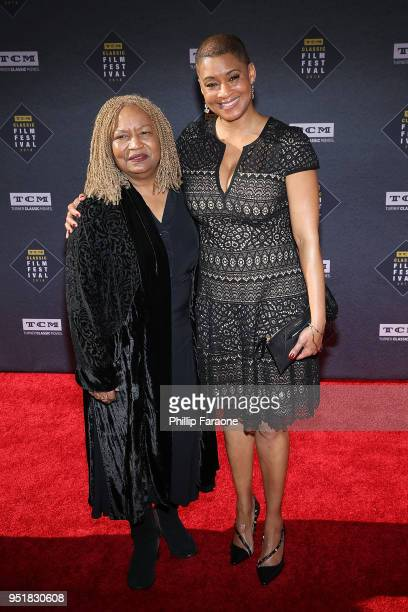 Jacqueline Stewart and guest attend the 2018 TCM Classic Film Festival Opening Night Gala 50th Anniversary World Premiere Restoration of The...