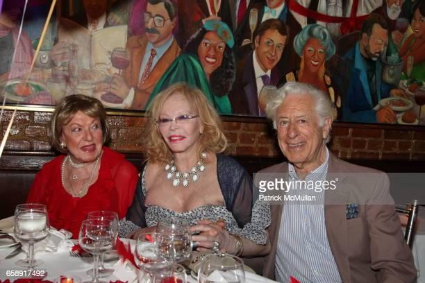 Jacqueline Stone Monique van Vooren and Dr Herbert Gould attend Monique van Vooren Hosts a Birthday Party for Jacqueline Stone at Chez Josephine on...