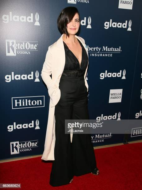 Jacqueline Toboni attends the 28th Annual GLAAD Media Awards on April 01 2017 in Beverly Hills California
