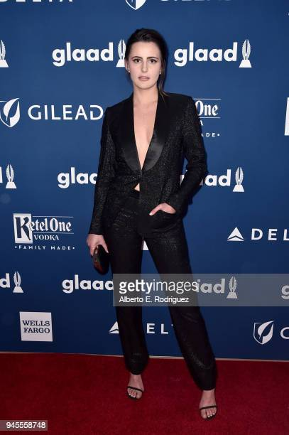 Jacqueline Toboni attends the 29th Annual GLAAD Media Awards at The Beverly Hilton Hotel on April 12 2018 in Beverly Hills California