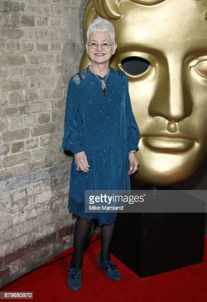 Jacqueline Wilson attends the BAFTA Children's awards at The Roundhouse on November 26 2017 in London England