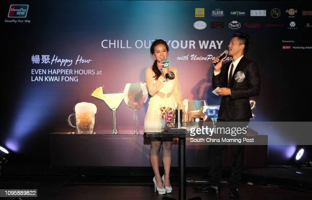 Jacqueline Wong Sumwing for UnionPay Chill Out Your Way VIP Event at Hard Rock Cafe in LKF Central 12NOV15