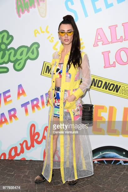 Jacqueline Wood attends the Stella McCartney photocall during Milan Men's Fashion Week Spring/Summer 2019 on June 18 2018 in Milan Italy