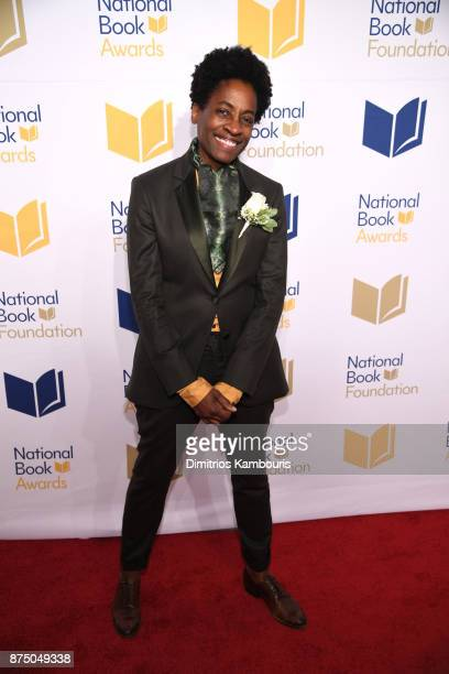 Jacqueline Woodson attends the 68th National Book Awards at Cipriani Wall Street on November 15 2017 in New York City