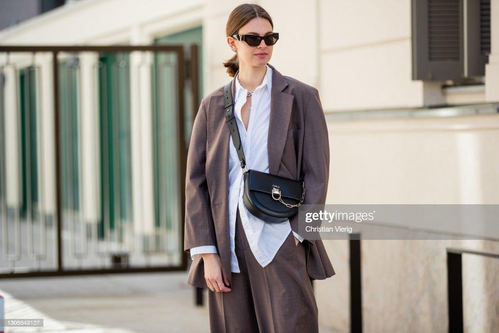 Street Style - Berlin - March 5, 2021 : Photo d'actualité
