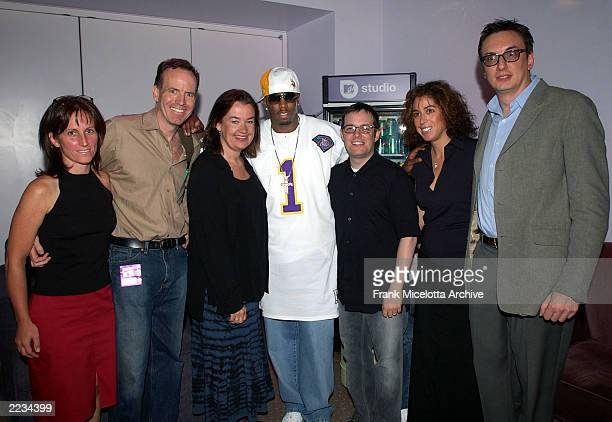 """Jacquelyn French, MTV Director of Original Series, Jon Murray, Executive Producer, Judy McGrath, President, MTV Networks Music Group, Sean """"P.Diddy""""..."""