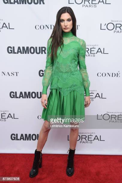 Jacquelyn Jablonski attends Glamour's 2017 Women of The Year Awards at Kings Theatre on November 13 2017 in Brooklyn New York