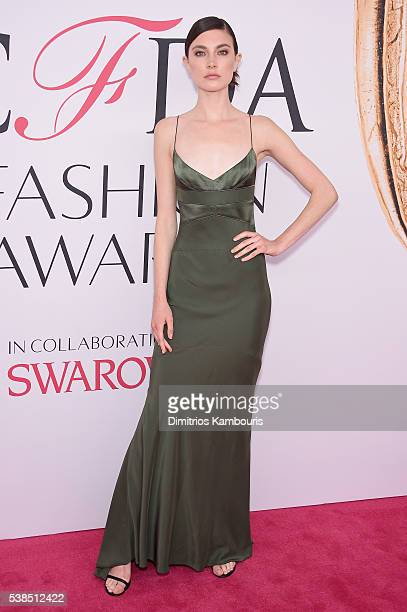 Jacquelyn Jablonski attends the 2016 CFDA Fashion Awards at the Hammerstein Ballroom on June 6, 2016 in New York City.