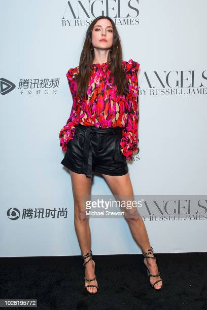 Jacquelyn Jablonski attends the Russell James 'Angels' book launch & exhibit at Stephan Weiss Studio on September 6, 2018 in New York City.
