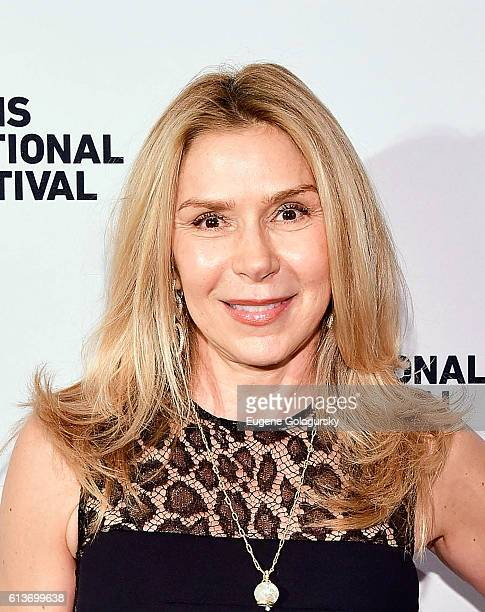Jacquelyn Murphy attends the Awards Dinner at the Hamptons International Film Festival 2016 at Topping Rose on October 9 2016 in Bridgehampton New...