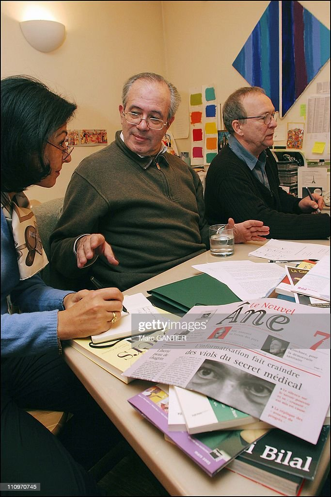 Jacques Alain Miller, psychoanalyst in Paris, France on March 2nd, 2005. : News Photo